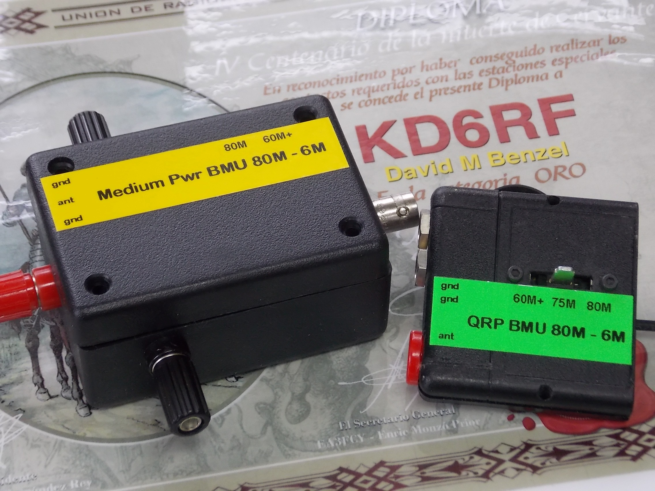 BMUs Top View QRP Portable and Med Pwr